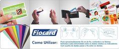 Cartão de Visita em Ps,com fio dental fio card 4x4 cores