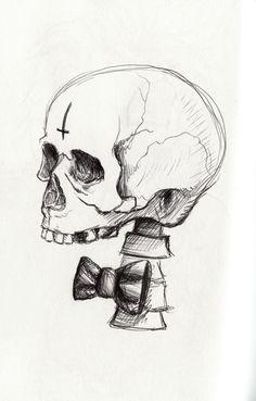 Sketch by Stephanie Crane Illustration. stephaniecraneart.tumblr.com
