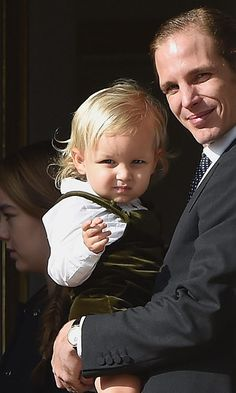 Princess Grace's great grandson makes his first public appearance in Monaco