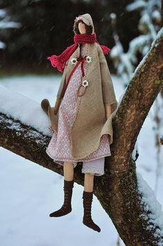 poupée emmitoufflée