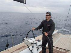 Out in the #BayOfPalma with #raceyacht #SYAragon   #RiggingInPalma www.rsb-rigging.com