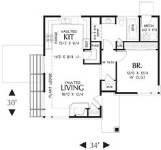 House Plan No.326611 House Plans by WestHomePlanners.com. I like the floor plan!
