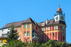 Jansky Hill (Jansky Vrch) Castle in Javornik Town, Olomouc Region, Czechia Prague, Historical Monuments, Manor Houses, Palaces, Czech Republic, Small Towns, Castle, Europe, Mansions