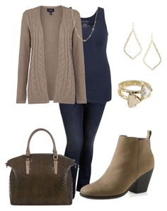 """""""Plus size fashion - Fall 9"""" by janiebzrgni on Polyvore featuring Old Navy, maurices, Lands' End, Kendra Scott, David Yurman, Brahmin, Cole Haan, plus, plussize and fallfashion"""