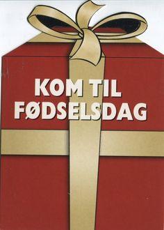 Go Card Advertising Postcard, Kom til Fodselsdag (Scratchcards), 6863