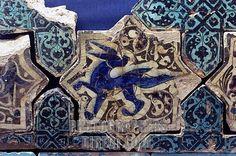 Kubadabad Palace tile- Konya Karatay Museum