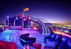 55 floors above all the action of the Las Vegas Strip. Take Las Vegas nightlife to the next level. Sitting high atop the Vegas Strip, the Ghostbar reinvents high class.  Frequented by celebrity clientele, the innovative décor creates an exclusive ambiance unlike anything you've ever seen. The dramatic outdoor sky deck offers nearly a 360-degree view of the glittering strip and glass insets in the floors provides a captivating view below.