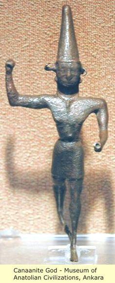 Canaanite God  Museum of Anatolia Civilization,Ankara
