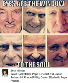 They are the RULERS of this world and will destroy 95% of billions soon! Prepare!!!!
