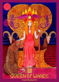 Queen of Wands secondo le affascinanti suggestioni di Sarah Magdalene