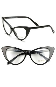 Get your reading on! Tom Ford Cats Eye Optical Glasses