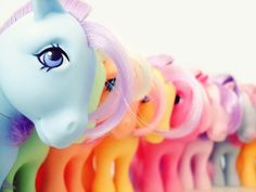 Another Collectors Pose Pony Army! [MLP My Little Pony G1 Hasbro] - wow, this brings back memories!