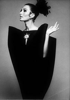Irving Penn for Balenciaga, 1967  www.fashion.net