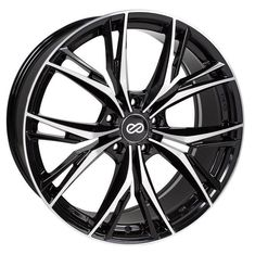Enkei ONX - 17x7.5 Rim Size/ 45mm Offset/ 5x100 Bolt Pattern/ 72.6 Bore Diameter - Black Wheel