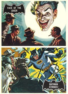 Batman Trading Cards (Artwork by Norman Saunders) 1965