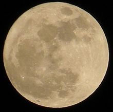 Supermoon - Wikipedia, the free encyclopedia. The March 19, 2011, supermoon was 356,577 kilometers (221,566 miles) away from Earth. The last time the full moon approached so close to Earth was in 1993. It was about 20 percent brighter and 15 percent bigger than a regular full moon...