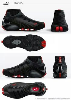 Puma Parkour, Mirror's Edge and Running concept shoe Pumas Shoes, Men's Shoes, Nike Shoes, Shoe Boots, Parkour, Sneakers Mode, Sneakers Fashion, Fashion Shoes, Sports Shoes