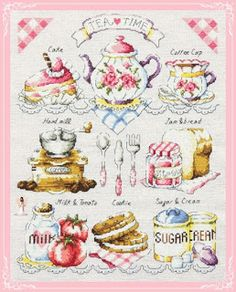 Lavores da Ana Paula: Tea Time