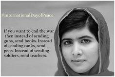 Education= Peace