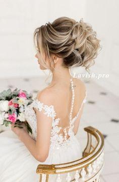 Coiffure De Mariage : Featured Hairstyle:lavish.pro;www.lavish.pro; Wedding hairstyle idea.