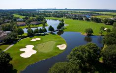 Cotton Creek Golf Course - Hole No. 6 at Craft Farms Golf Resort, Gulf Shores, Ala.