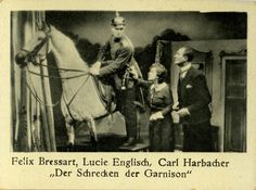 """Der Schrecken der Garnison"" Germany (1931)  Directed by Carl Boese  Cast: Felix Bressart, Lucie Englisch, Adele Sandrock, Tamara Desni, Olga Limburg, Albert Paulig, Kurt Vespermann, Ernst Behmer, Fritz Spira, Hugo Fischer-Köppe, Karl Harbacher"