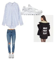 """""""Unbenannt #23"""" by bedriyey on Polyvore featuring Mode, Levi's und NIKE"""