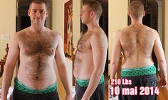 Progres 10 mai 2014 210lbs Mon aventure de 230 à 190 lbs!   PARTIE 5