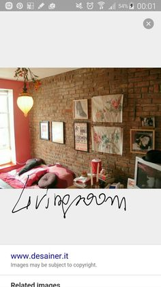 Pared De Ladrillo Visto Rosa Habitacion De Las Nenas Pinterest - 65 impressive bedrooms with brick walls
