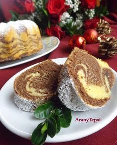 AranyTepsi: Zebra kuglóf Sweets Cake, Cake Recipes, Pancakes, French Toast, Panna Cotta, Muffin, Food And Drink, Bread, Cheese