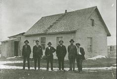 Edouard Beaupré's former house, Willow Bunch, Saskatchewan, CN