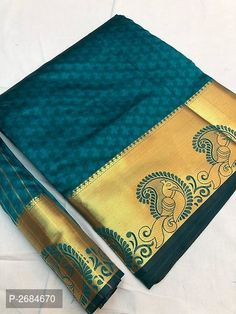 Peacock Border Art Silk Woven Design Sarees from Stf Store