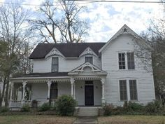 The perfect ''Fixer-Upper'' on Northside near historic downtown Columbus.The hard work is already done: New 200 Amp electric service throughout, on demand hot water heater, roof and most plumbing professionally repaired or replaced. True 1' pine and oak hardwood floors. Over-sized lot with one car garage and towering pecan tree.Great built-ins. Proposed floor-plan in attached documents Three bedrooms upstairs, fireplaces throughout, wrap around front porch, large closets, sun room. Just two…