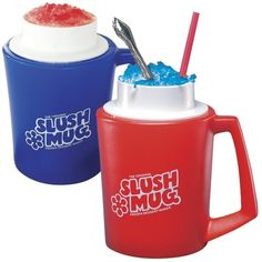 A set of mugs that turn any drink into a slushee.