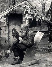 noah john rondeau cabin | The Hermit of the Lake