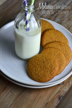 Molasses Cookies – Soft & Chewy - gluten free