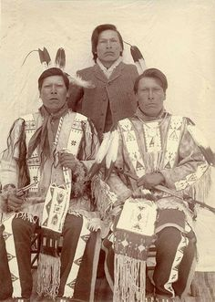 Survivors of Wounded Knee: White Lance, Joseph Horn Cloud & Dewey Beard. Lost parents, 2 brothers&sister