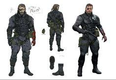 The Art Of Metal Gear Solid V, The Phantom Pain : 50 Concept Art