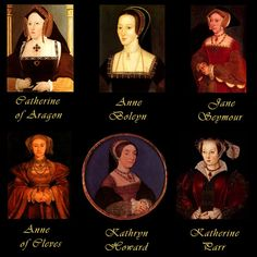 Henry the VIII many wives in order