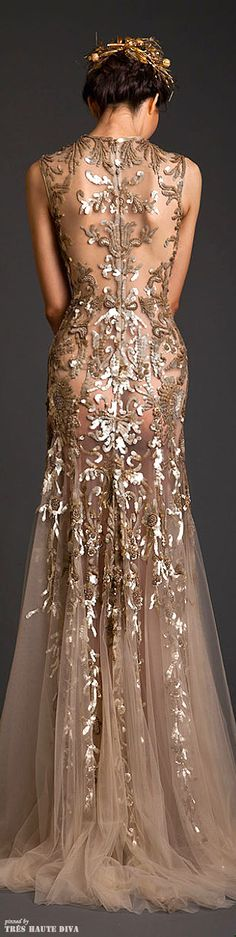 Krikor Jabotian Couture ~ S/S 2014 https://www.etsy.com/shop/InfinityTiffany https://www.etsy.com/shop/OrendaFashion