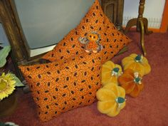18x21 Halloween pillow by 12dozen on Etsy