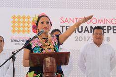 Toma protesta Yesenia Nolasco Ramírez como presidenta municipal de Santo Domingo Tehuantepec