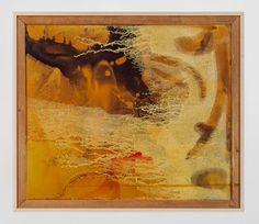 Sigmar Polke - Landscape, 1988. Resin and acrylic on fabric.