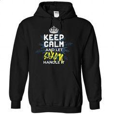 Keep Calm and Let SAXON Handle It - #funny tee #geek tshirt. MORE INFO => https://www.sunfrog.com/Automotive/Keep-Calm-and-Let-SAXON-Handle-It-ptdbobewlr-Black-30122255-Hoodie.html?68278