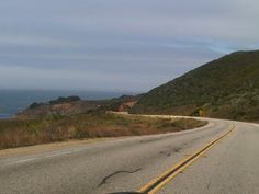 Pacific Coast Highway driving up to Carmel Pacific Coast Highway, California, Heart, Hearts