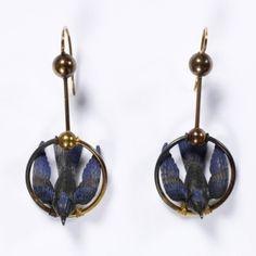 earrings ca. 1875