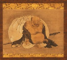 """""""The Life of Japanese Paintings"""": Exhibition on view at the Langen Foundation in Neuss - Alain. Zen Painting, Japanese Painting, Chinese Painting, Pablo Picasso, Japanese Buddhism, Maitreya Buddha, Japanese Drawings, Art Japonais, Buddhist Art"""