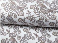 Jersey Stenzo Vögel weiß-braun