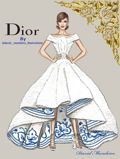 Ideas Fashion Sketches Dior Drawings - Ideas Fashion Sketches Dior Drawings You are in the right place about fashion drawing Here we o - Fashion Illustration Sketches, Illustration Mode, Fashion Sketchbook, Trendy Fashion, Fashion Art, Fashion Show, Fashion Outfits, Fashion Vintage, Dior Fashion