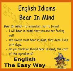 English Idioms - Learn English